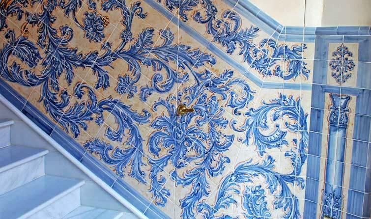 Cer mica taller de cer mica azulejos retablos murales for Azulejos antiguos sevilla